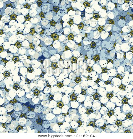 seamless flower background pattern