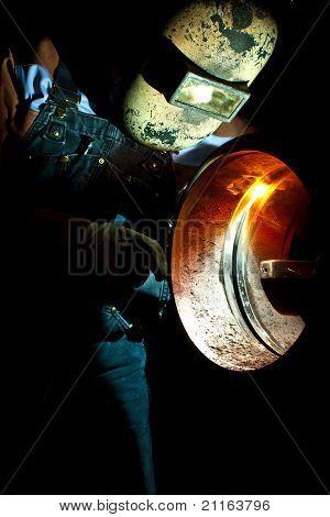 STT welding