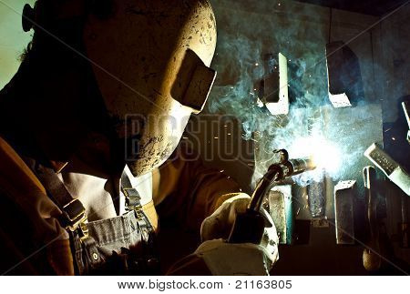 Fluxcore welding