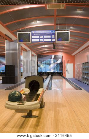 Track For Bowling.