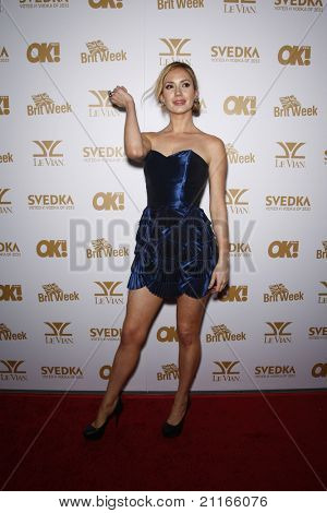 WEST HOLLYWOOD - FEB 25: Ashley Jones at the OK! Magazine and BritWeek celebrate the Oscars party held at the London Hotel in West Hollywood, California on February 25, 2011