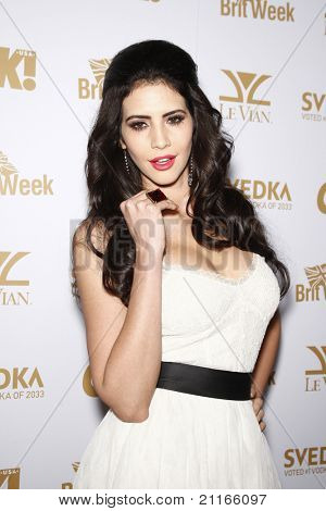 WEST HOLLYWOOD - FEB 25: Hope Dworaczyk (2010 Playmate of the Year) at the OK! Magazine and BritWeek celebrate the Oscars party at the London Hotel in West Hollywood, California on February 25, 2011