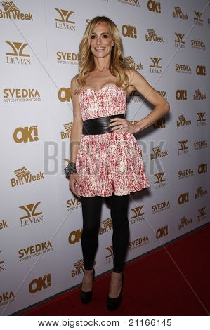 WEST HOLLYWOOD - FEB 25: Taylor Armstrong at the OK! Magazine and BritWeek celebrate the Oscars party held at the London Hotel in West Hollywood, California on February 25, 2011