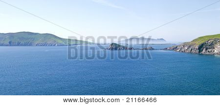 Blasket Islands And Dunmore Head