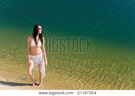 Summer Young Woman