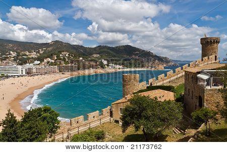Tower Tossa De Mar, Spain