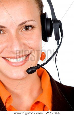Customer Service Girl