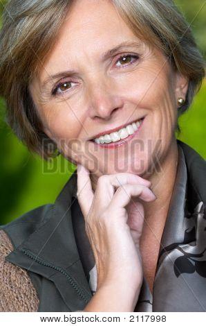 Beautiful Woman Smiles
