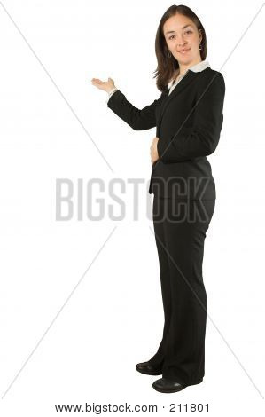 Business Woman Doing A Presentation