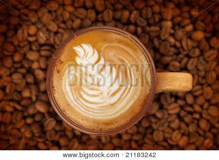 Macro Studio Shot Of A Cup Of Coffee
