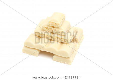 Pyramid Of White Chocolate
