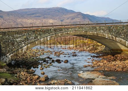 Stone Bridge Over