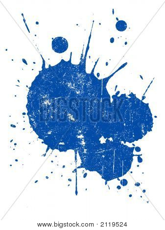 Grunged Splat 1