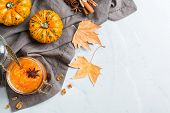 Fall Autumn Pumpkin Jam Confiture With Spices poster