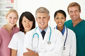picture of medical  - Portrait of medical professionals - JPG
