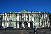 picture of zar  - Winter Palace square in St Petersburg Russia - JPG