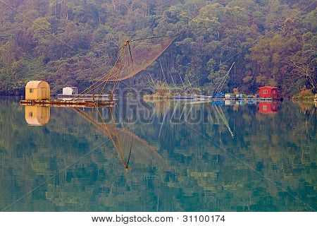 A view of the famous Sun Moon Lake