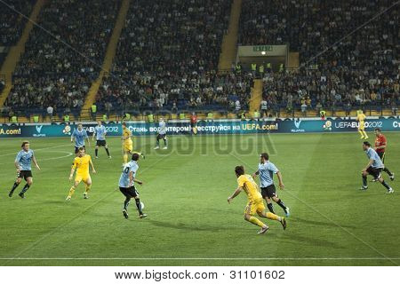 Football Match Ukraine Vs Uruguay