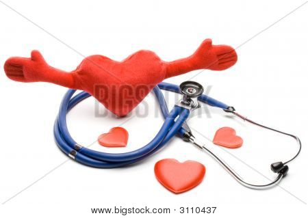Heart And A Stethoscope