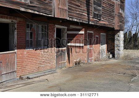 Old Dilipidated Barn