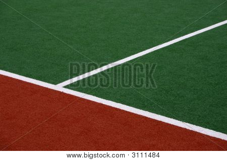 Hockey Field Sideline