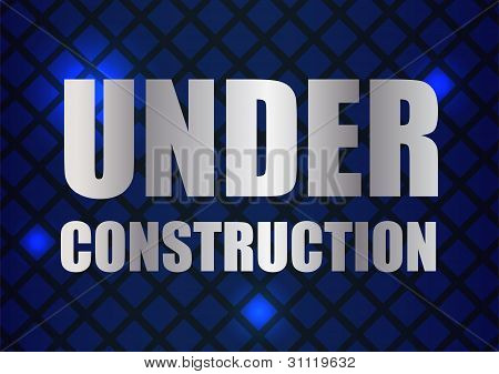 Abstract Under Construction Background With Special Design