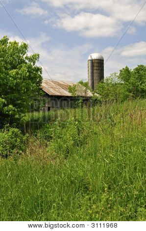 Old Barn In The Old South
