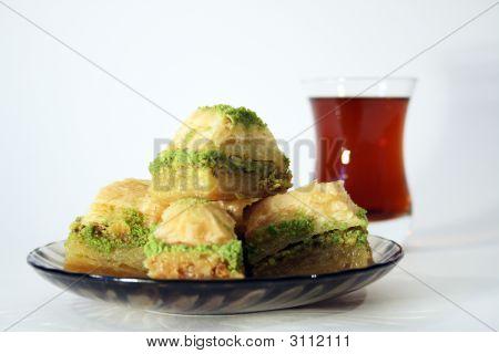 Turkish Tea And Sweet