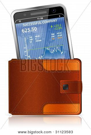 Purse With Smart Phone
