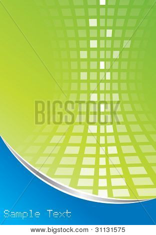 Abstract digital background in editable vector format