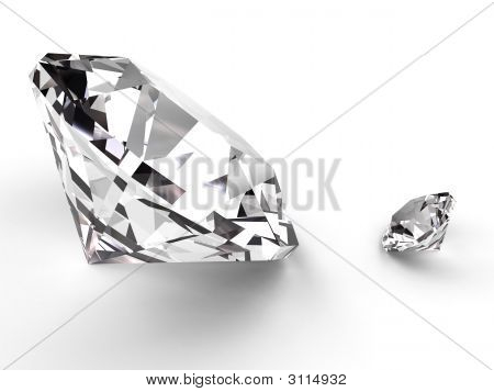 Big And Small Diamond