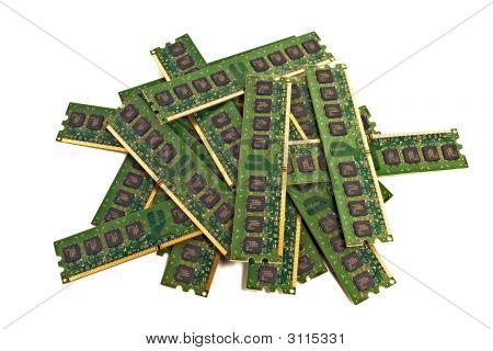 Heap Of Memory Modules 2