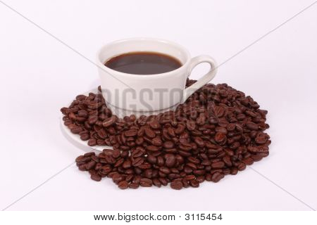 Black Coffee And Beans