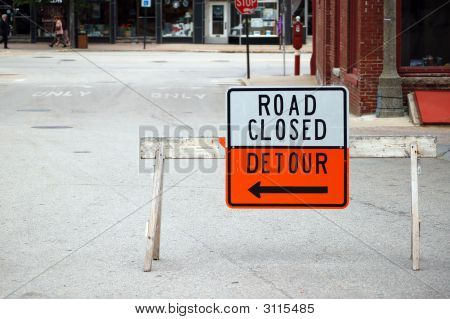Road Closed, Detour