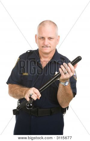 Policeman With Nightstick