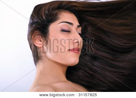 Woman Beautiful Hair