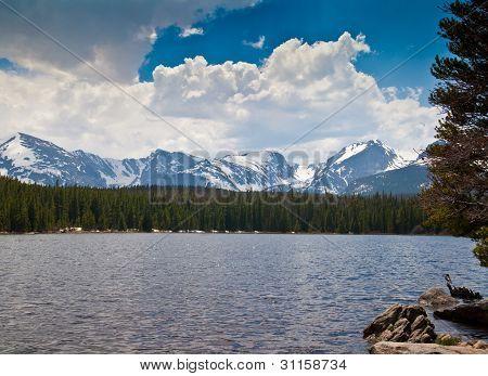 Bierstadt Lake In Rocky Mountain National Park