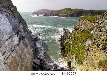 Rocky coast at Baltimore, Co. Cork - Ireland
