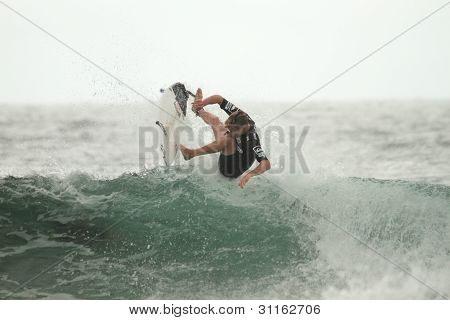 COOLANGATTA, AUSTRALIA - MAR 03 : Quicksilver  Pro ASP World Tour, Kolohe Andino  during expression