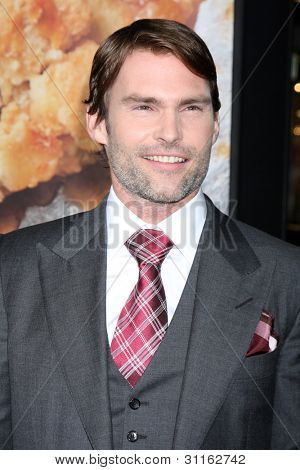 "LOS ANGELES - MAR 19:  Seann William Scott. arrives at the ""American Reunion"" Premiere at the Graumans Chinese Theater on March 19, 2012 in Los Angeles, CA"
