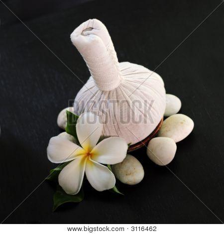 Постер, плакат: Тайский массаж продукты, холст на подрамнике