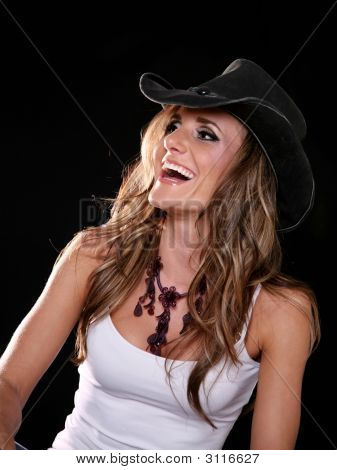 Laughing Cowgirl