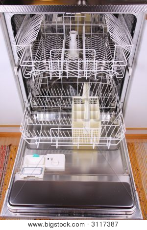 Empty Dishwasher