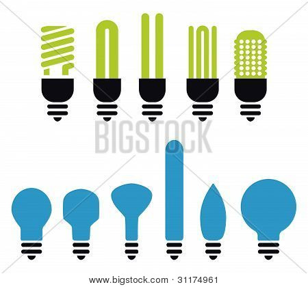 Bulbs Silhouette
