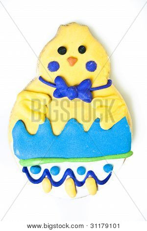 Easter Chick Cookie