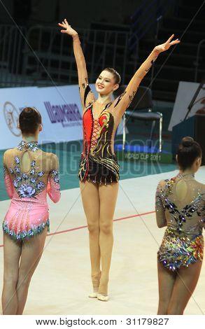 Alina Maksymenko At Deriugina Cup