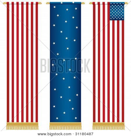 Stars And Stripes Wall Hangings