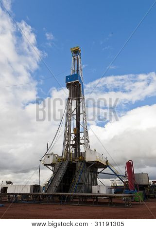 midwest drilling rig