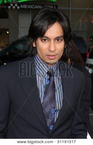 LOS ANGELES - MAR 19:  Vik Sahay arrives at the