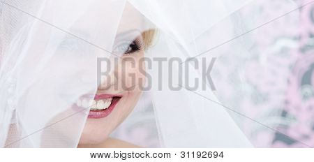 Face Of The Smiling Bride